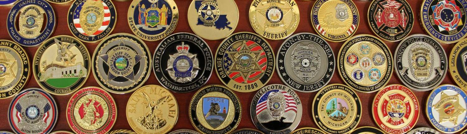 military coin design template - challenge coins for public safety departments the emblem