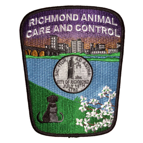 Animal Control Embroidered Emblem