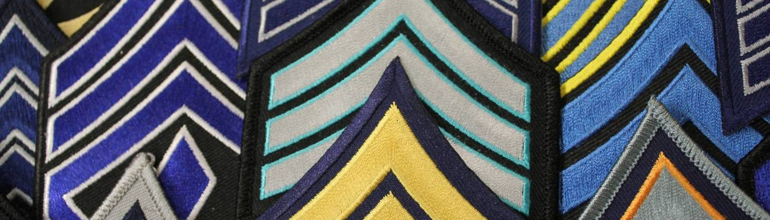 chevrons for uniforms