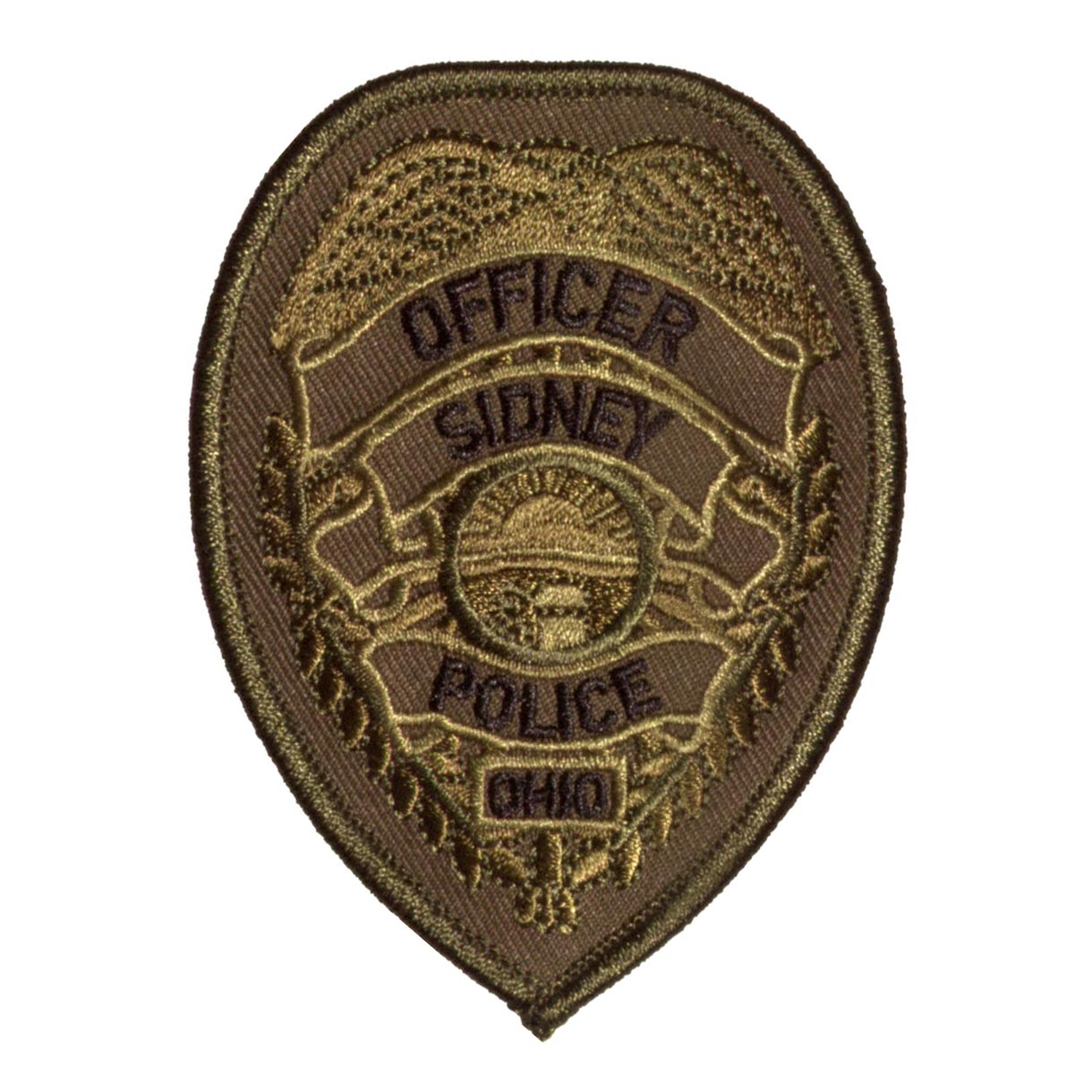 Police Officer Patches