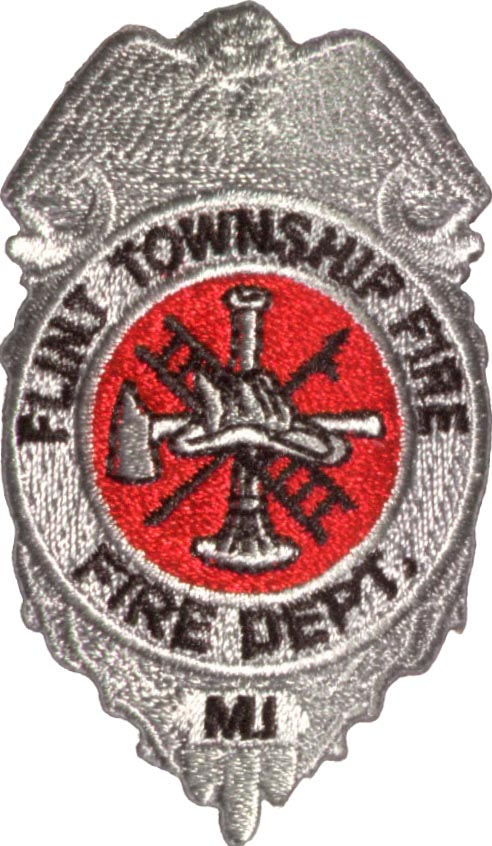 Fire Department Badge Patch