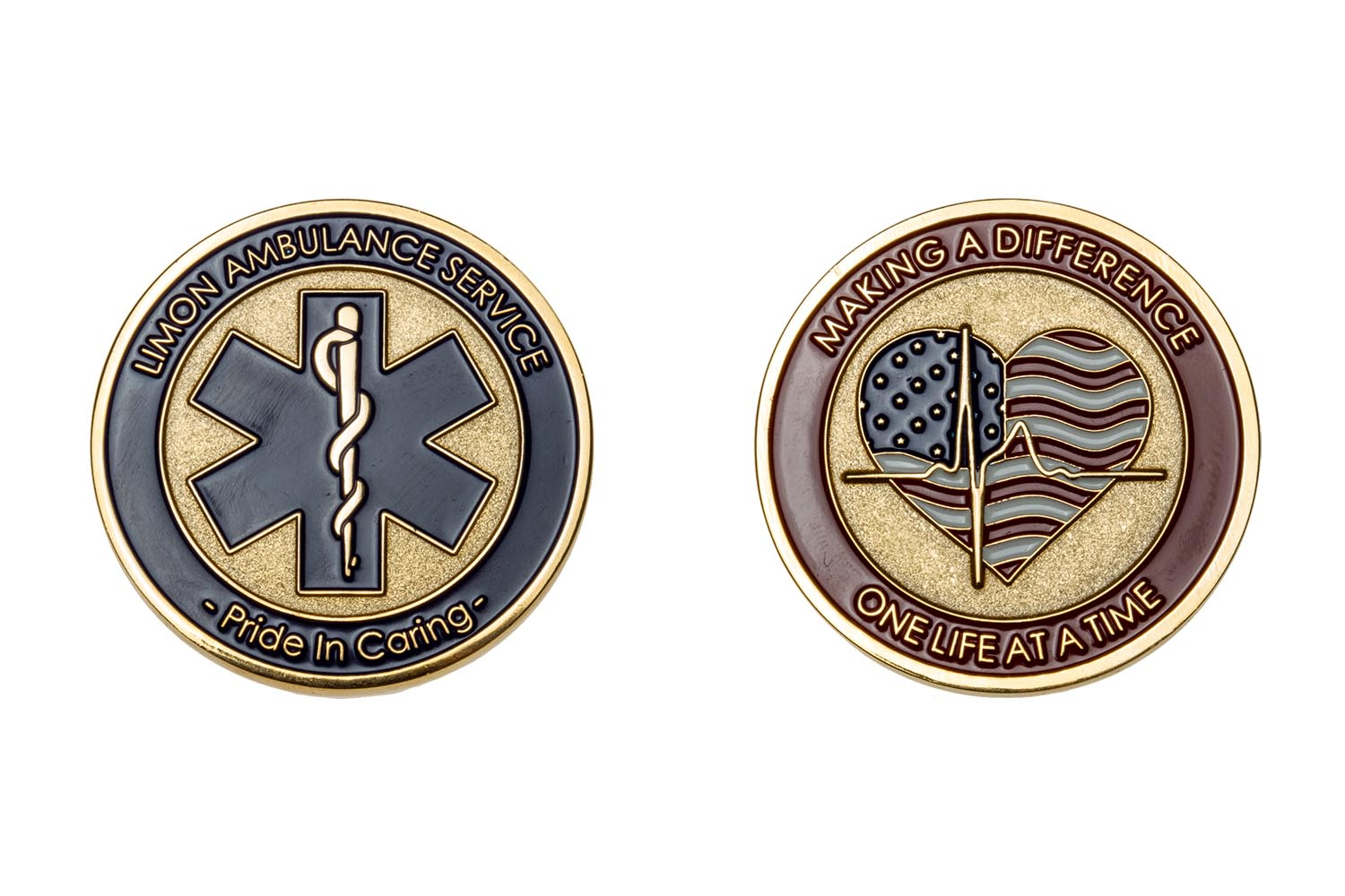 Metal EMS coins