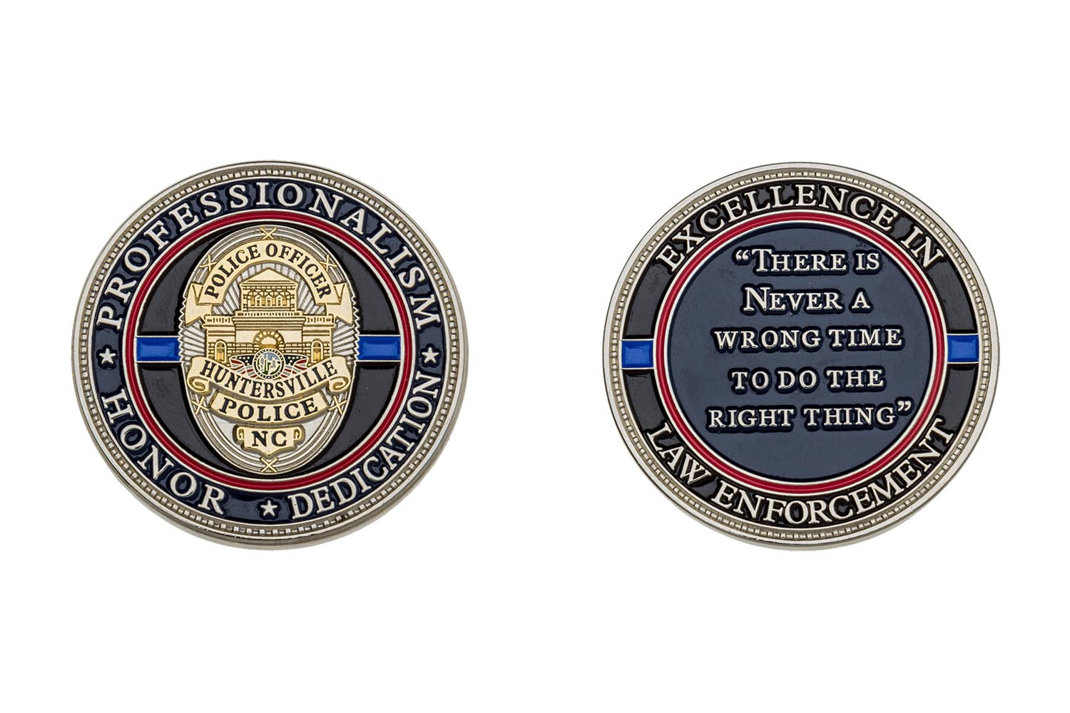 Custom metal coins