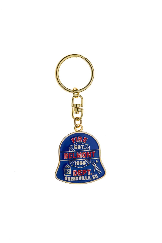 Custom metal fire keychains