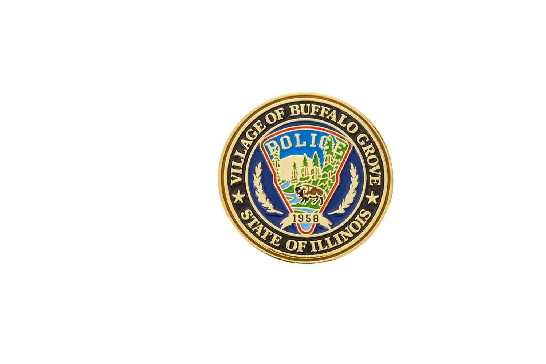 Custom police lapel pin