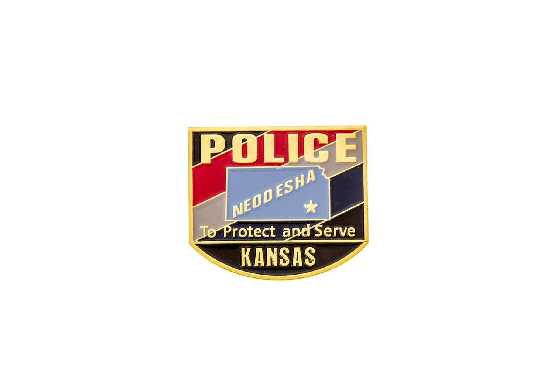Police lapel pins