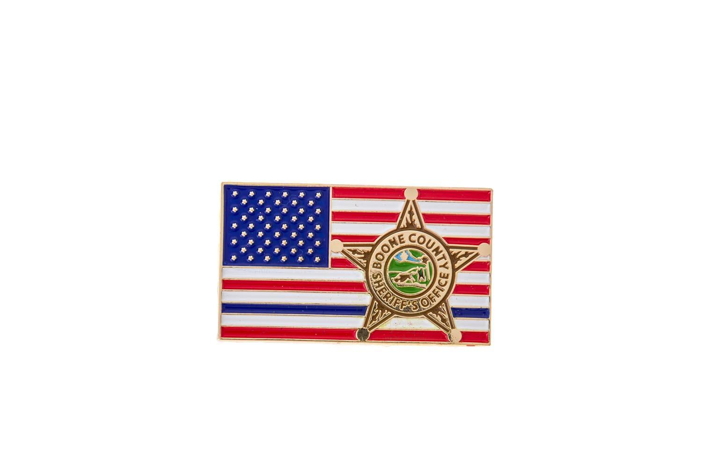Custom sheriff lapel pins