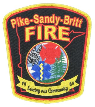Fire Department Embroidered Patches