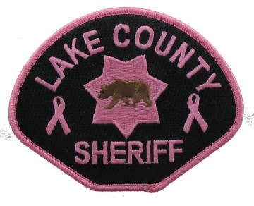 Pink Sheriff Patch