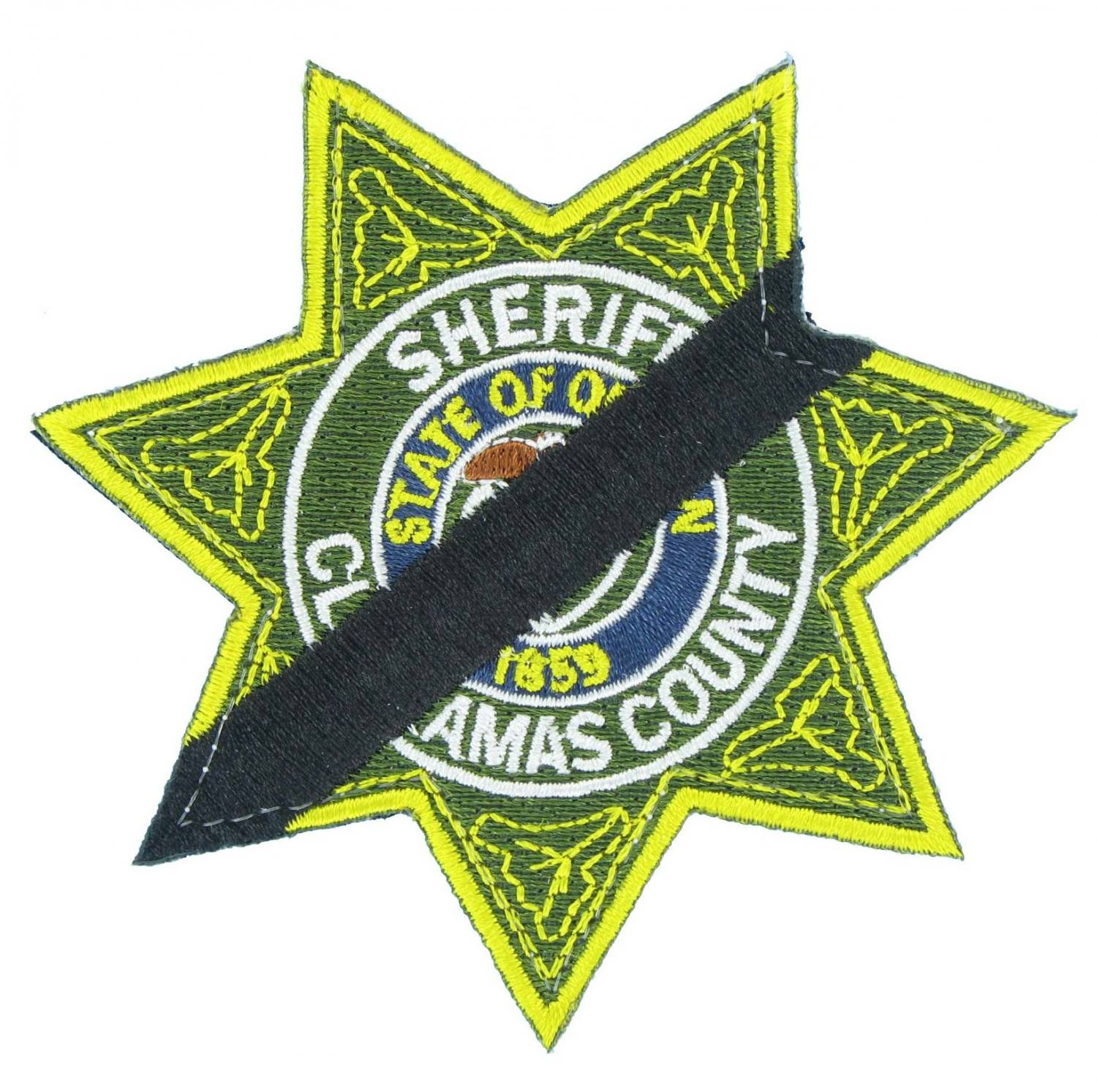 Mourning Embroidered Emblem