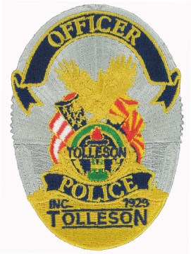 Police Officer Badge Patch