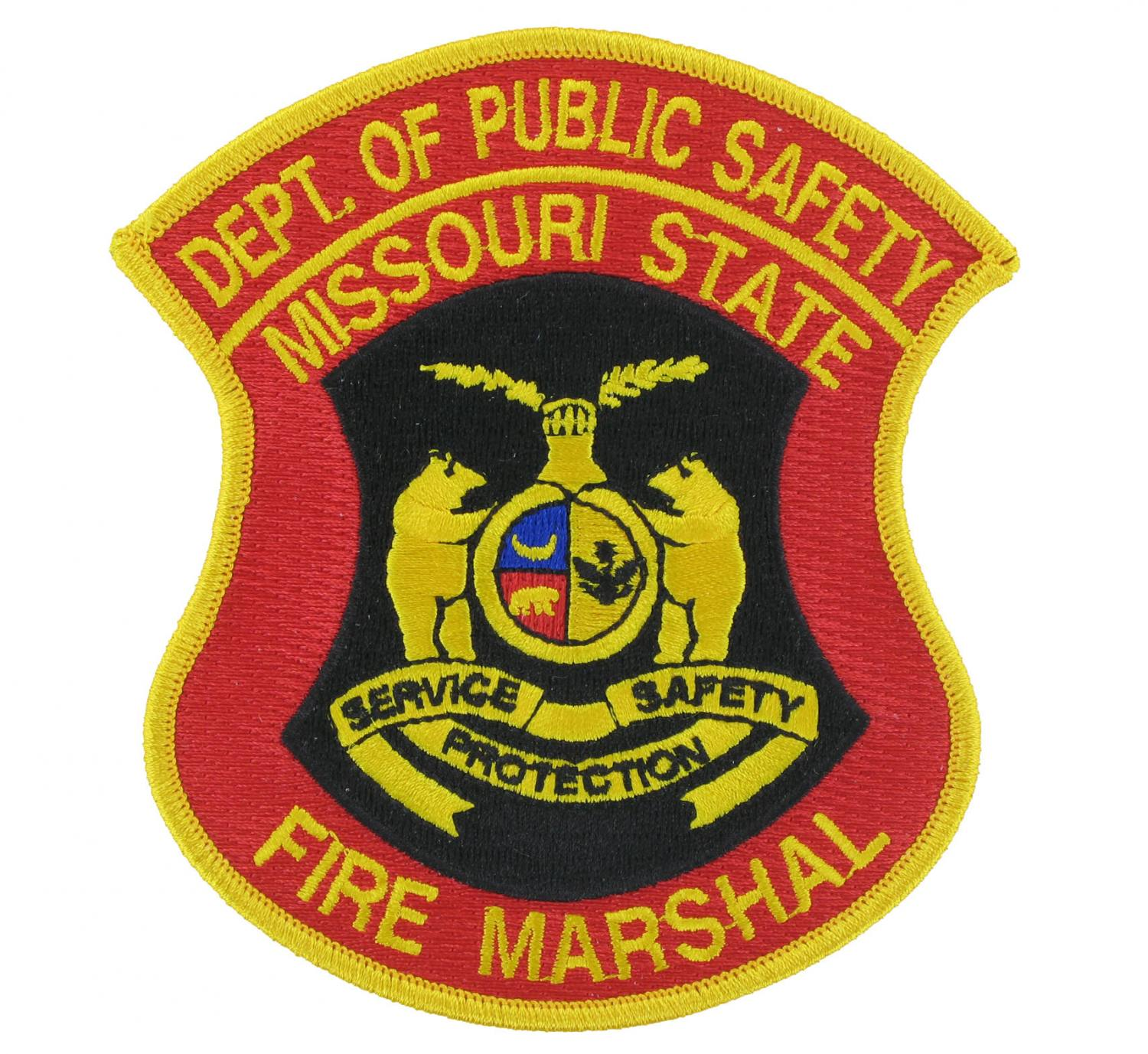 Fire Marshal Embroidered Emblem