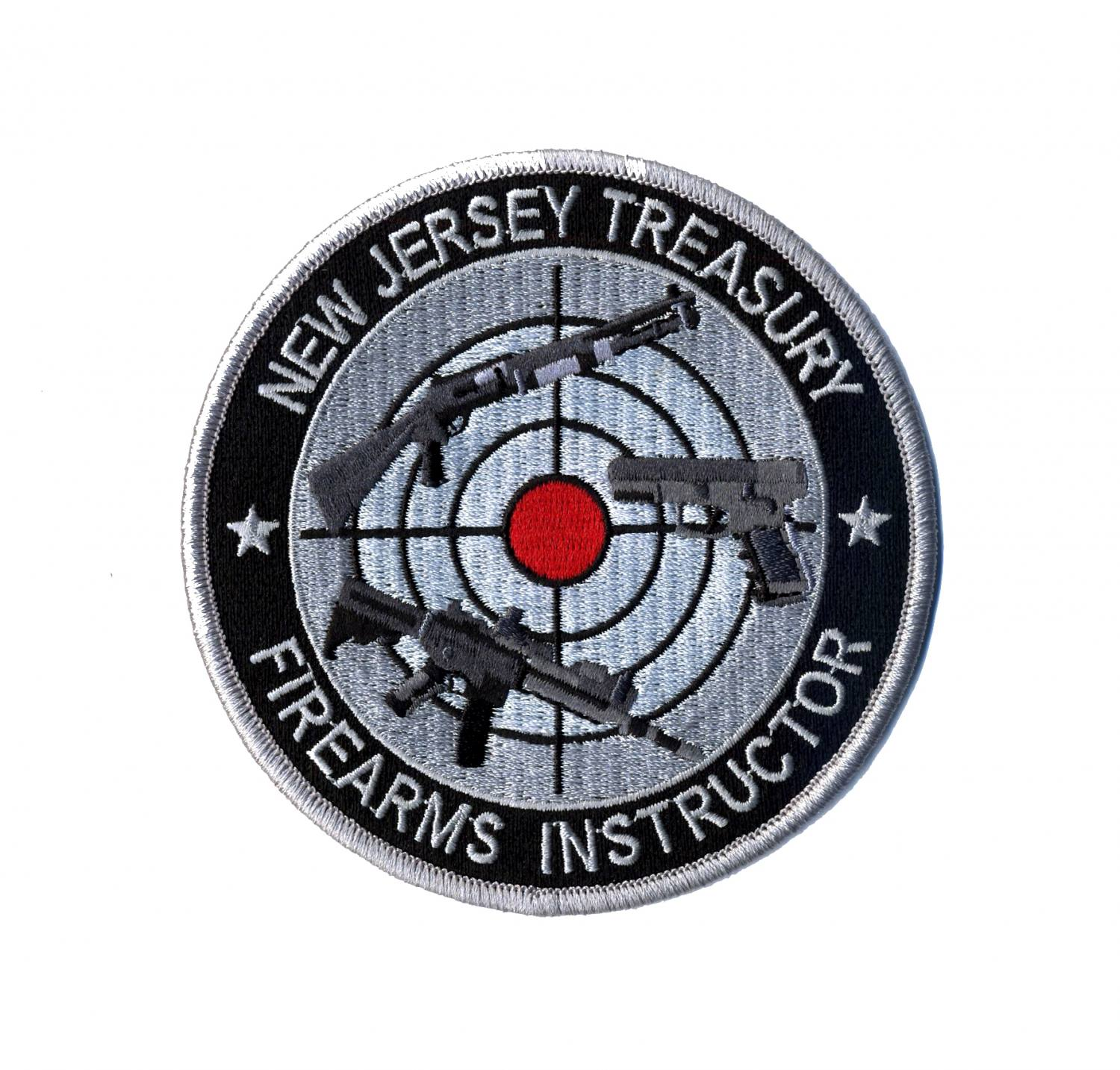 Firearms Instructor Circle Patch