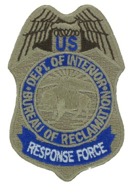 Police Embroidered Badge Patch
