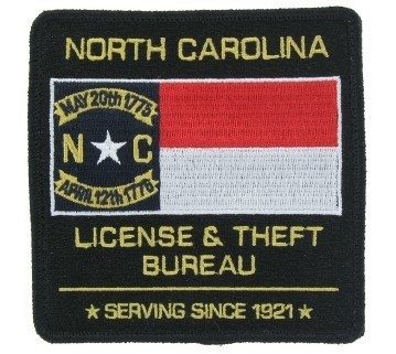 DMV Embroidered Patch