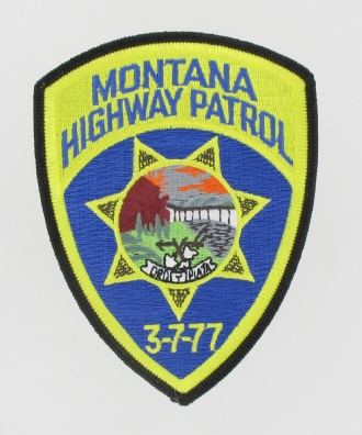Highway Patrol Patch