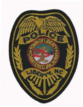 Embroidered police patches