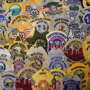 public safety badge patches