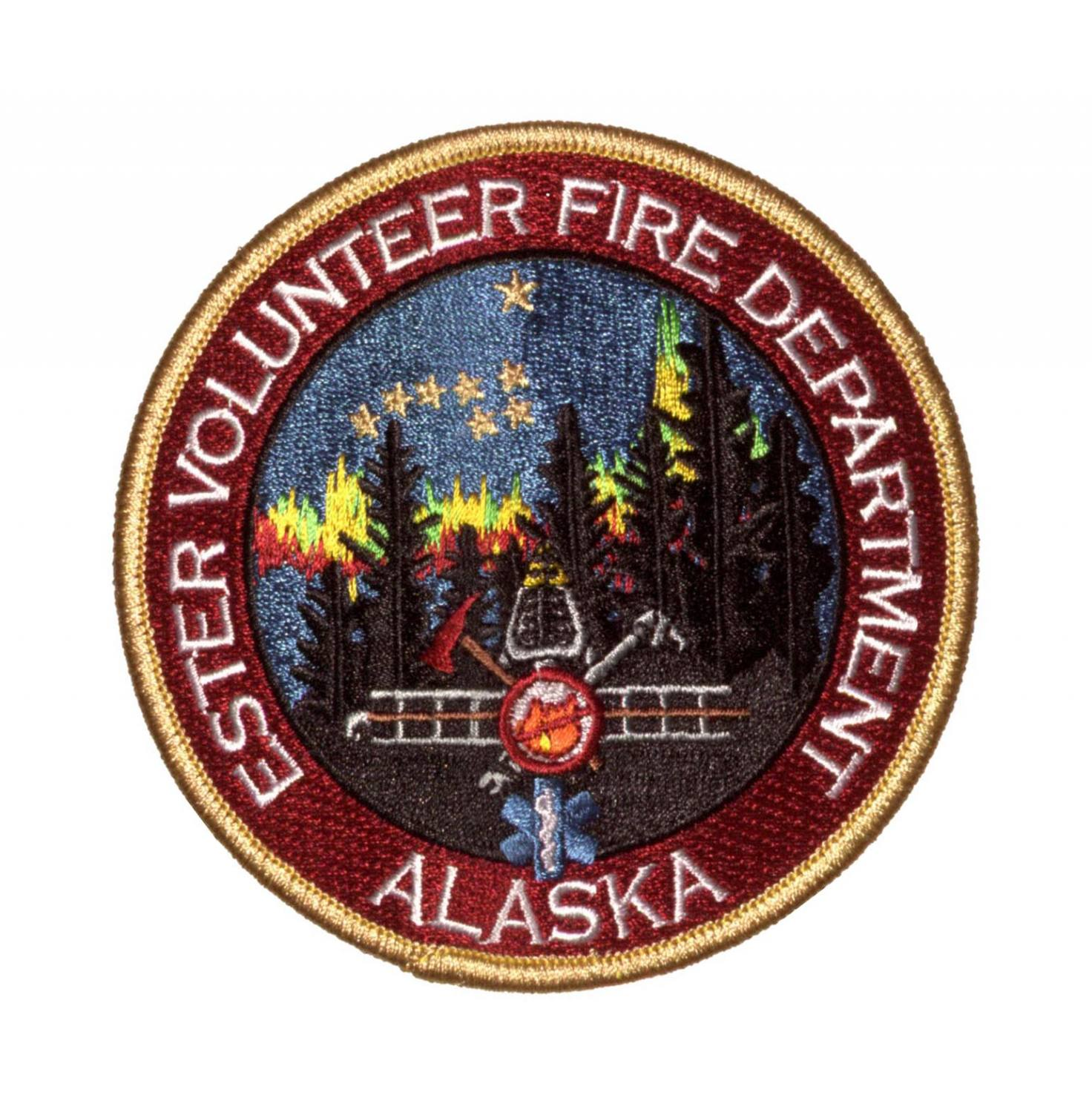 Volunteer Fire patches