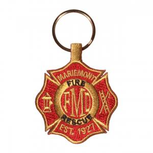 Fire department key fob