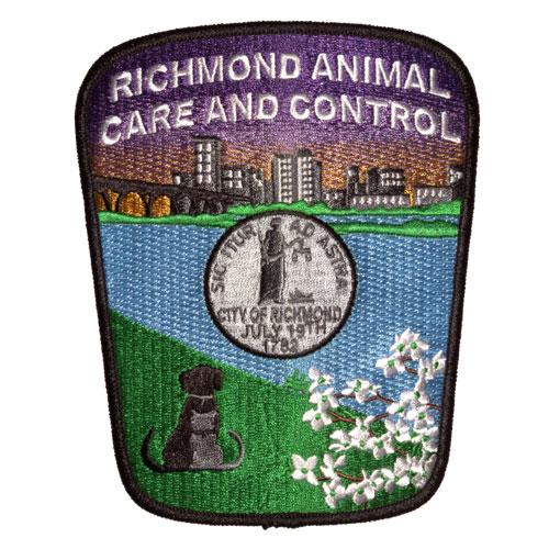 Animal Control Embroidered Emblem