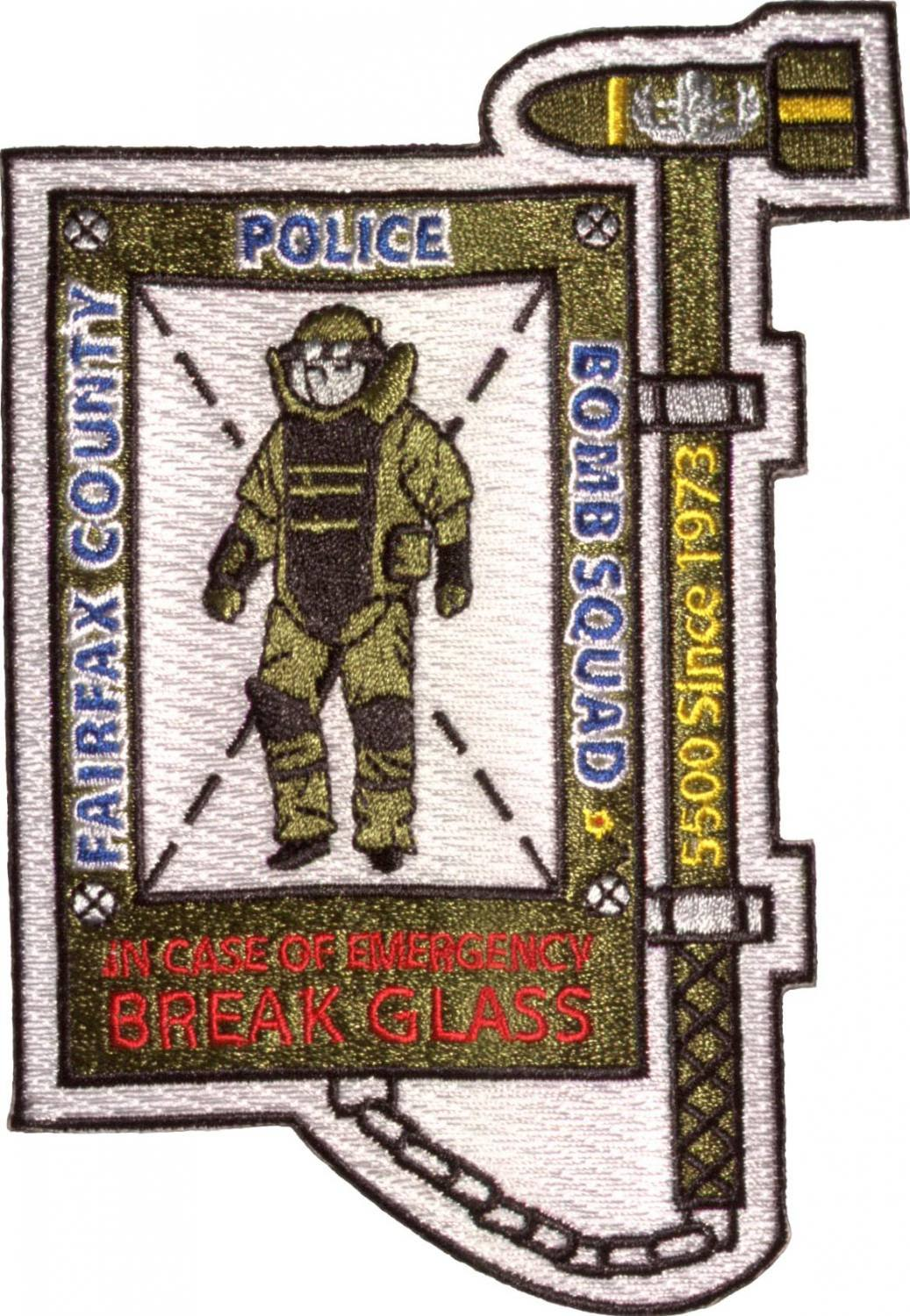 Custom Police patches