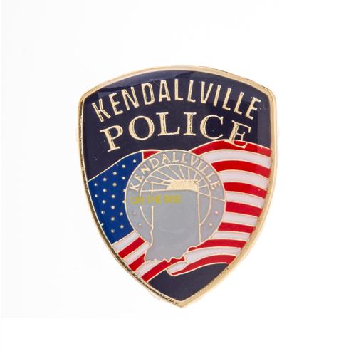 Metal Lapel Pin Kendallville Police