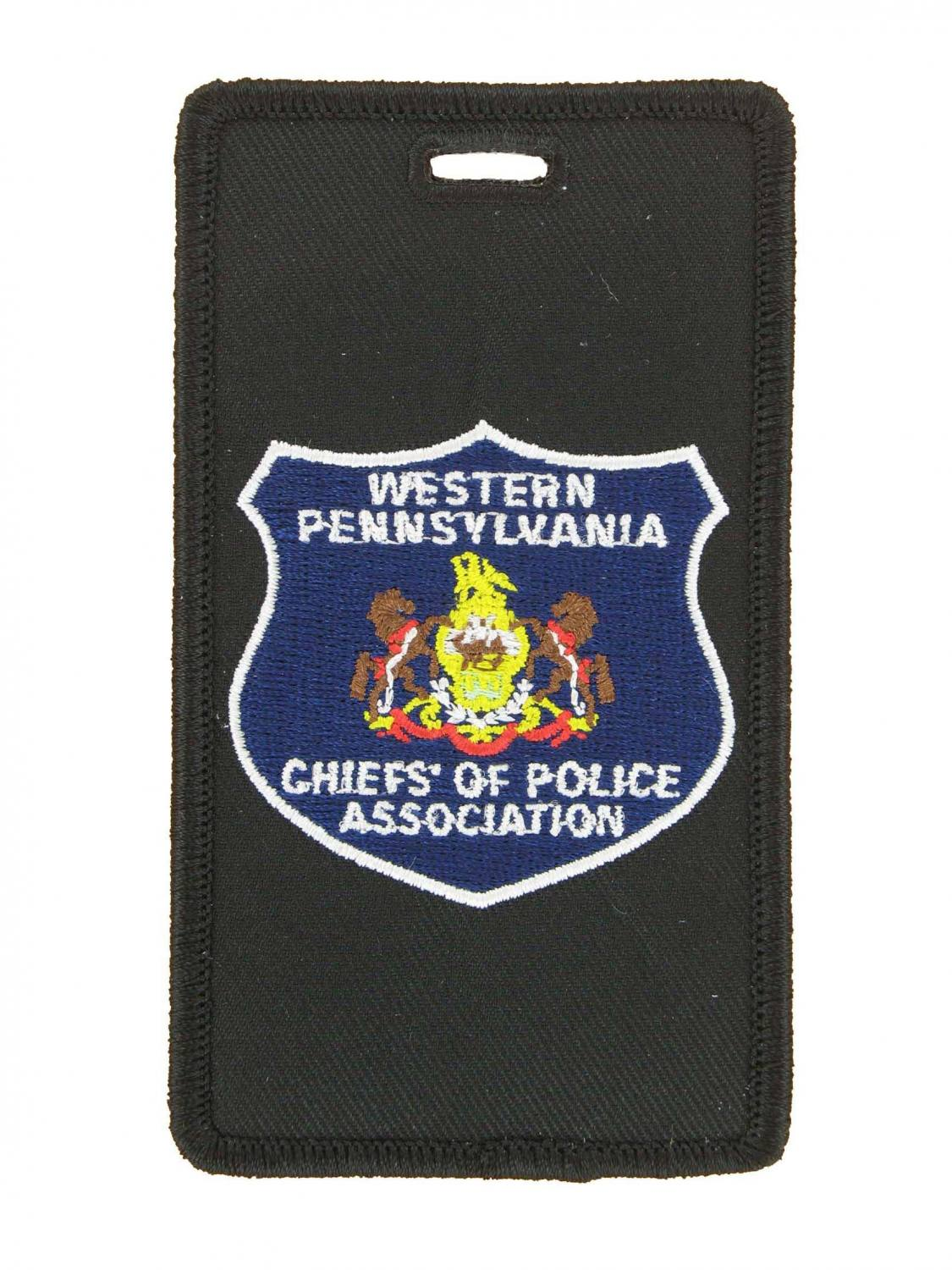 Police luggage tags
