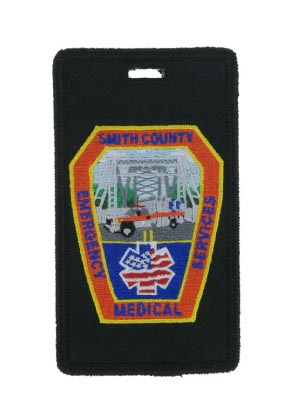 Custom EMS luggage tag