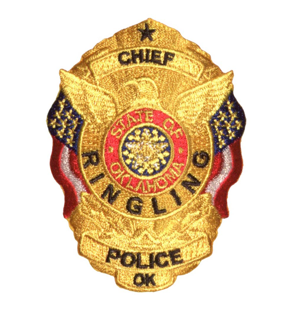 Police Chief Badge Patch