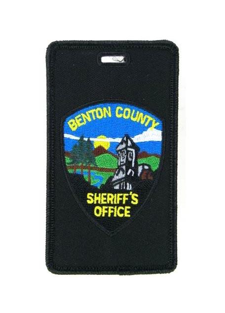Sheriff luggage tag