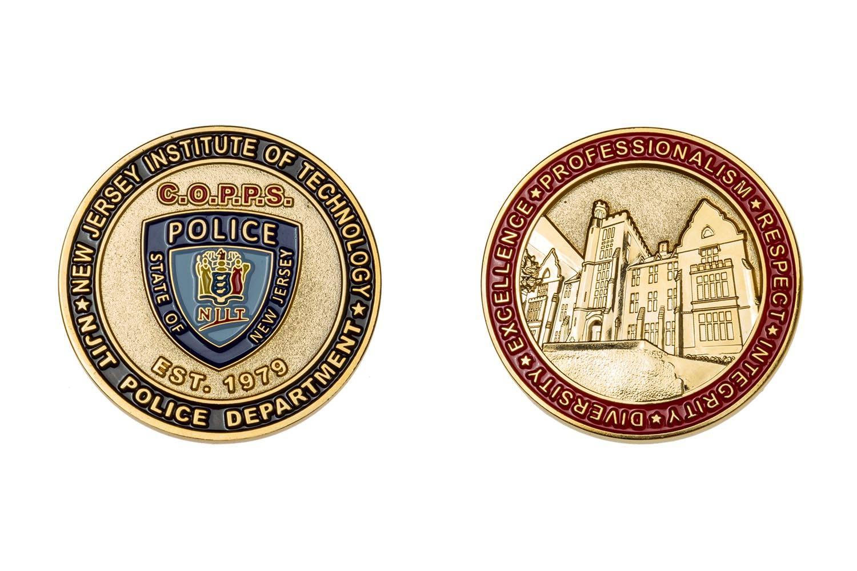 Custom metal coins