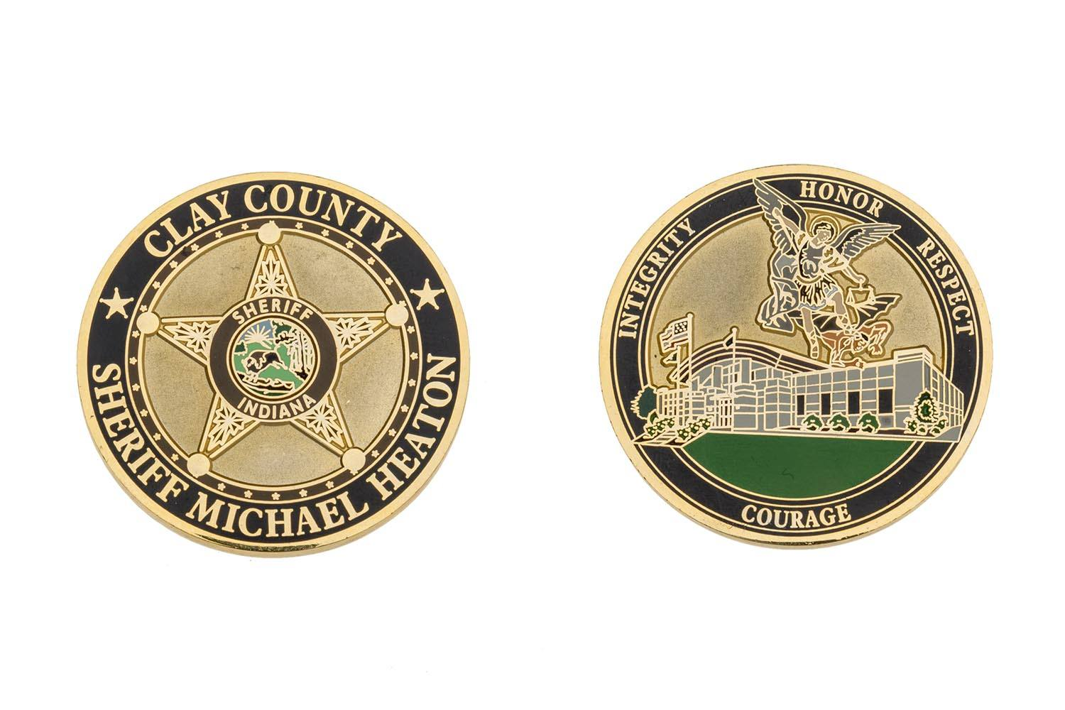 Metal Sheriff coin