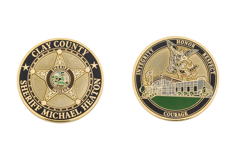 Metal Sheriff coin