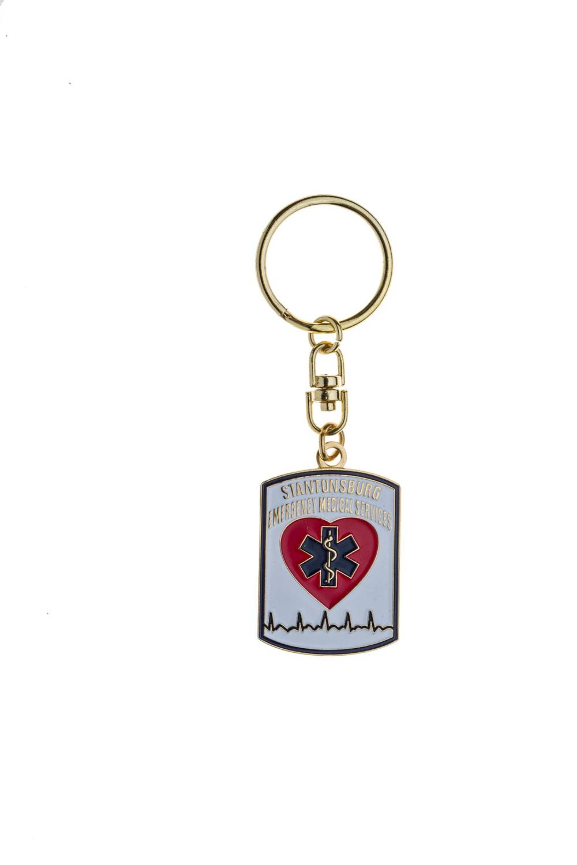 Custom EMS metal keychains