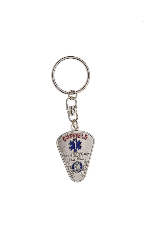 Metal EMS keychain