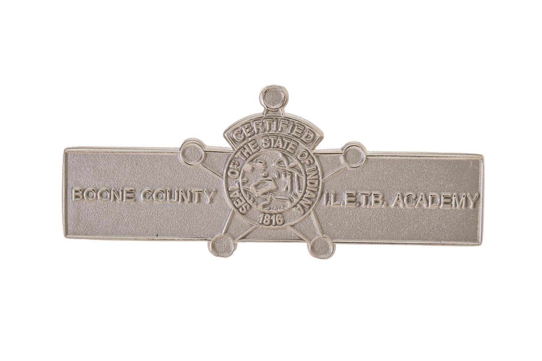 Custom sheriff metal lapel pin