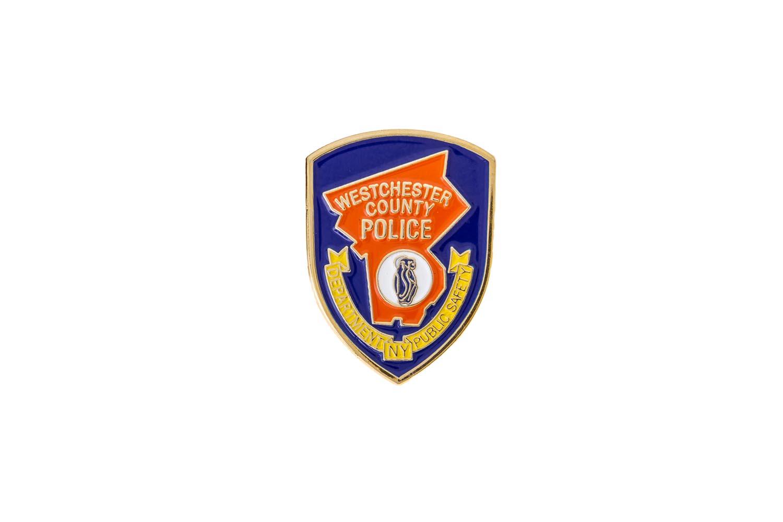 Police lapel pin