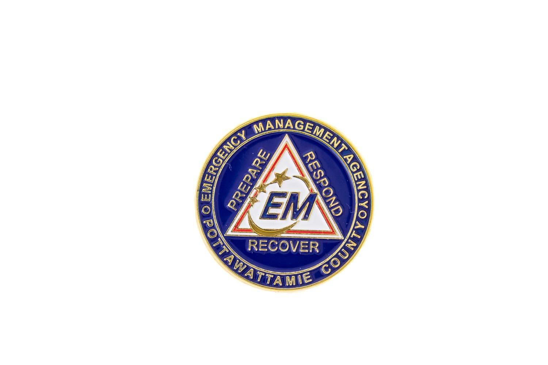 EMT lapel pin