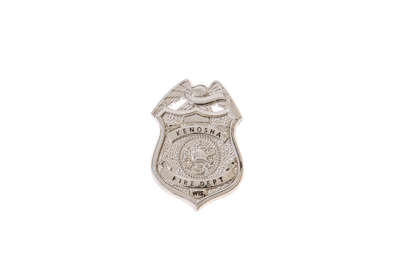 Custom fire department lapel pin