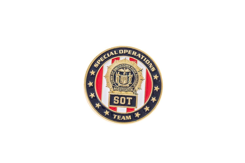 Custom metal lapel pins