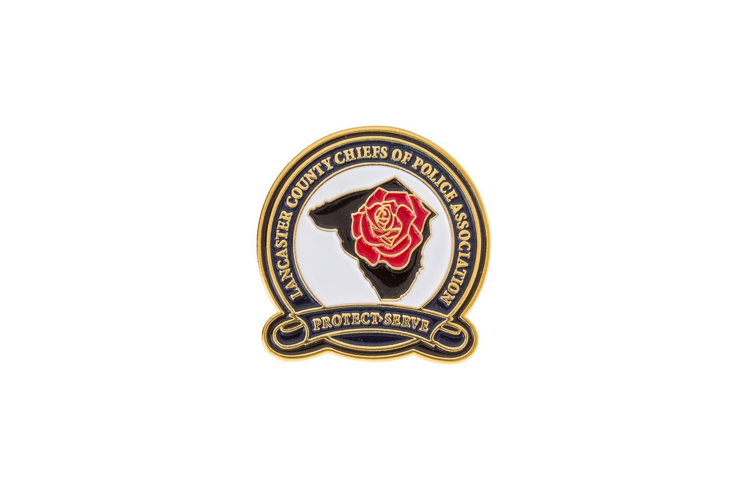 Police lapel pins