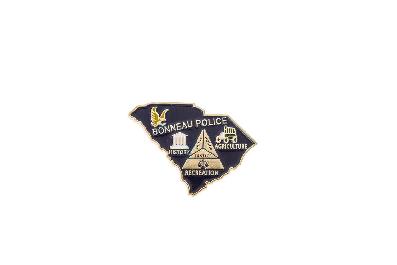 Police metal lapel pins