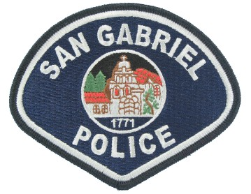 Police Embroidered Patch