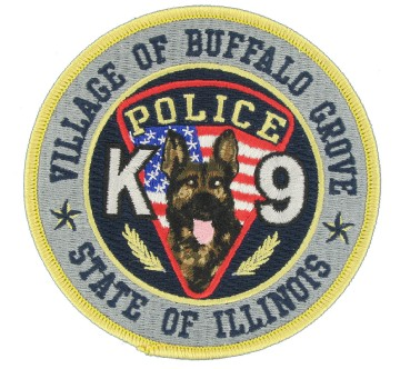 K9 Embroidered Emblem
