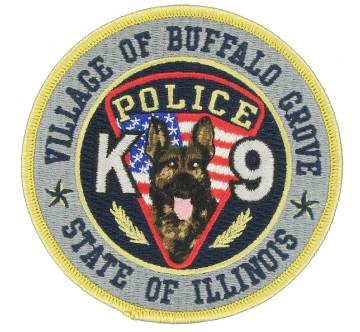 K9 Embroidered Emblem