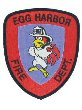 Fire Department Embroidered Emblems