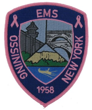 Pink EMS Emblems