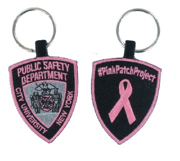 Public Safety Embroidered Key Fob