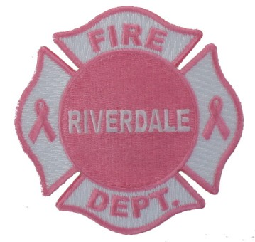 Pink Fire Scramble Patch